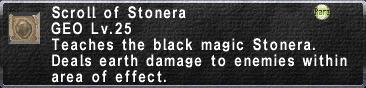 Scroll of Stonera