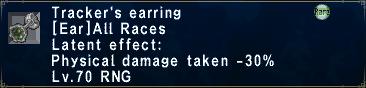 Tracker's earring