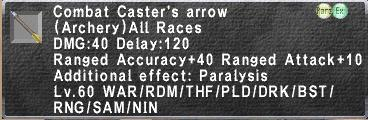 Combat Caster's Arrow