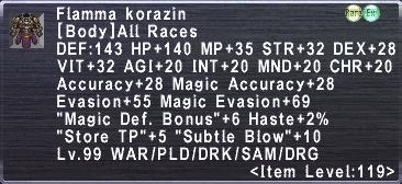 Flamma Korazin