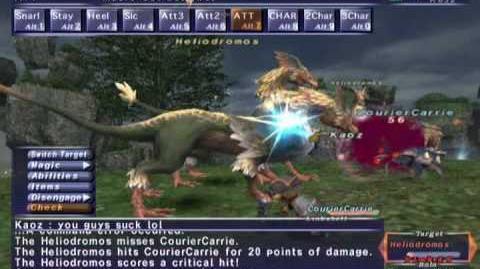 FFXI_NM_Saga_196_Heliodromos_vs_BST_Full_Battle