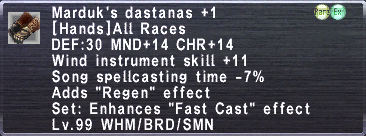 Marduk's Dastanas +1