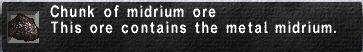 Midrium Ore