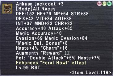 Ankusa Jackcoat +3