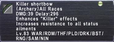 Killer Shortbow