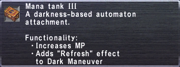 Mana Tank III