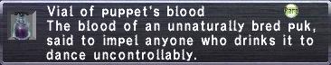 Puppet's Blood