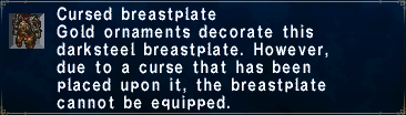 Cursed Breastplate