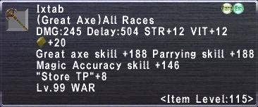 Ixtab (Weapon)