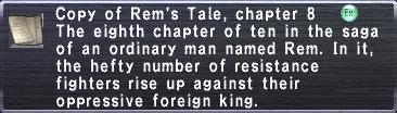 Rem's Tale Chapter 8