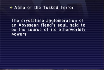 Atma of the Tusked Terror