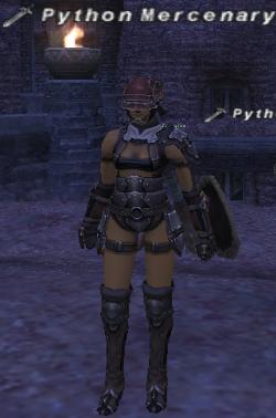 Python Mercenary