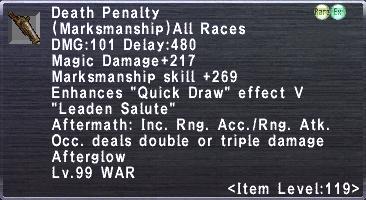 Death Penalty (119-4)