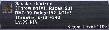 Sasuke Shuriken