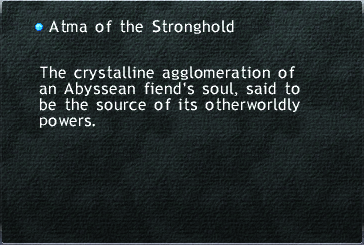 Atma of the Stronghold