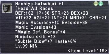 Hachiya Hatsuburi +1