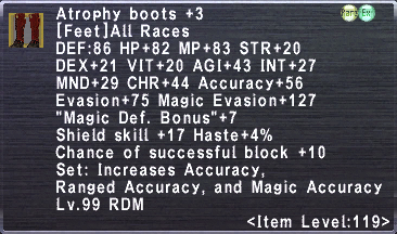 Atrophy Boots +3
