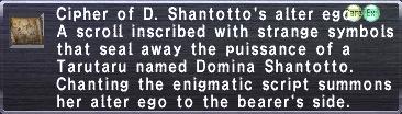 Cipher: Domina