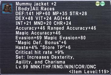 Mummu Jacket +2