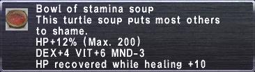 Stamina Soup