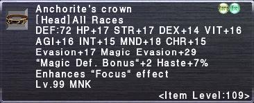 Anchorite's Crown