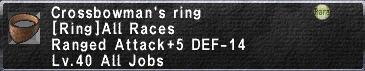 Crossbowman's Ring