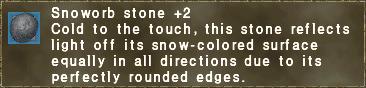 Snoworb Stone +2