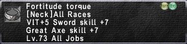 Fortitude Torque