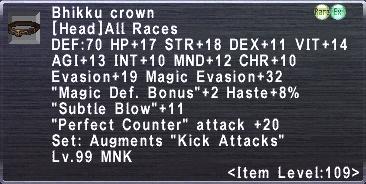 Bhikku Crown