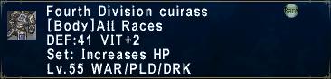 Fourth Cuirass