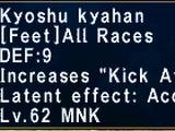 Kyoshu Kyahan