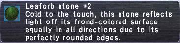 Leaforb Stone +2