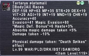 Tartarus Platemail