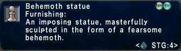 Behemoth Statue