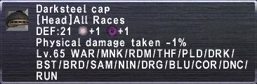 Darksteel Cap