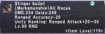 Stinger Bullet