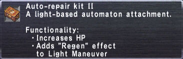Auto-Repair Kit II