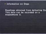 Information on Ongo