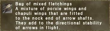 Mixed Fletchings