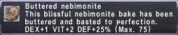 Buttered Nebimonite
