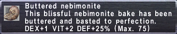 Buttered Nebimonite