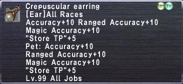 Crepuscular Earring