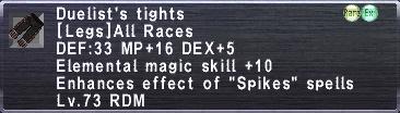 Duelist's Tights