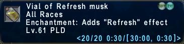 Refresh Musk