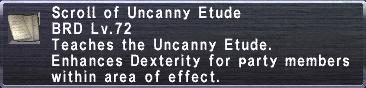 Uncanny Etude