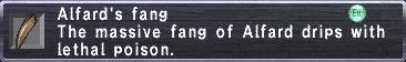 Alfard's Fang