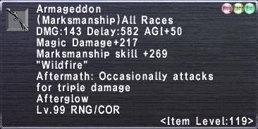 Armageddon (119-4)