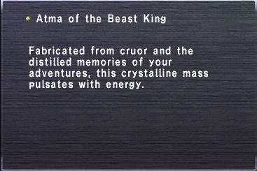 Atma of the Beast King