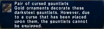 Cursed Gauntlets