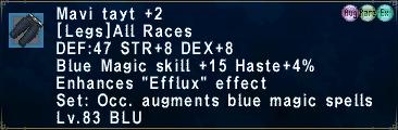 Mavi Tayt +2